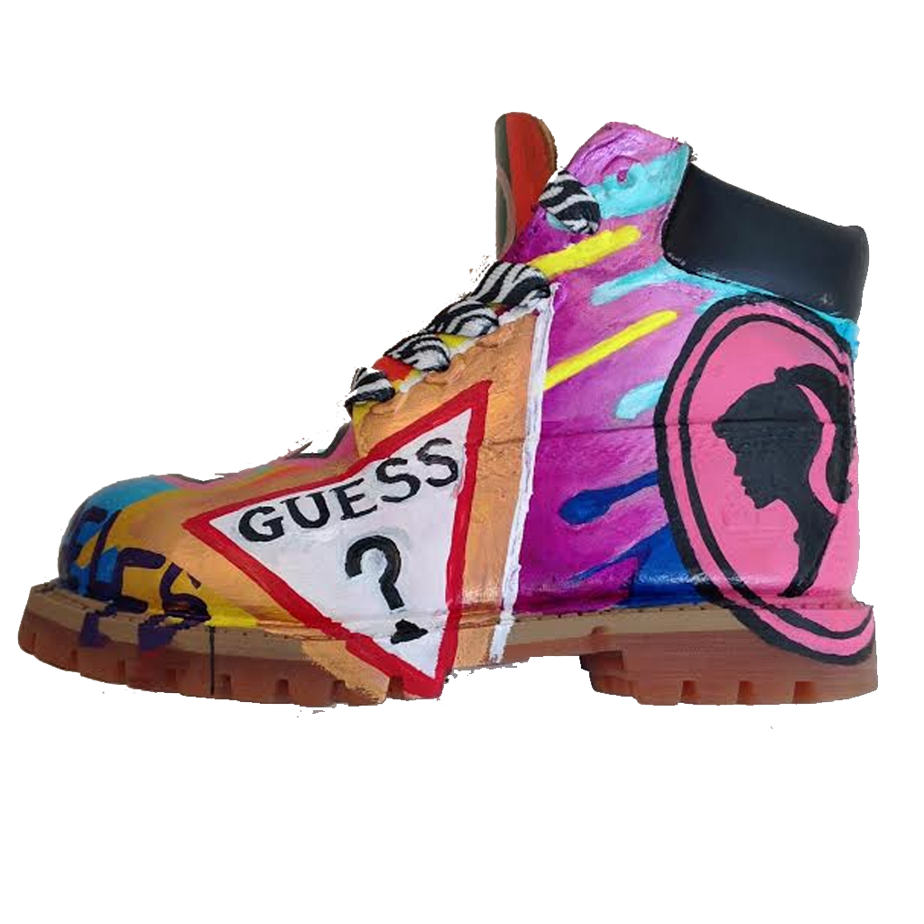 Girl Code Custom Timberlands - BYN Customs - 2