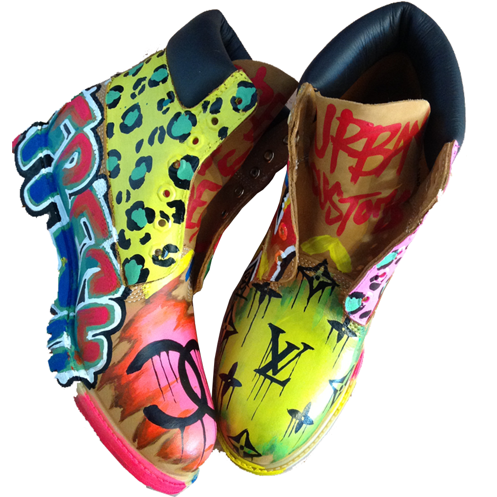 Custom Graf Fashion Timberlands - BYN Customs - 4