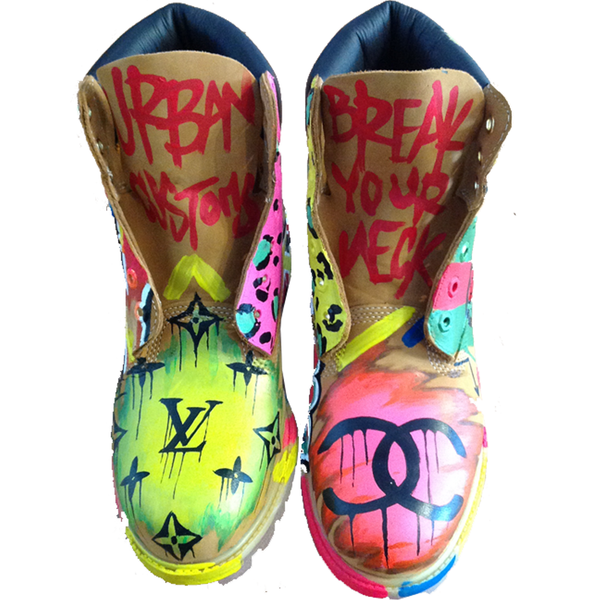Custom Graf Fashion Timberlands - BYN Customs