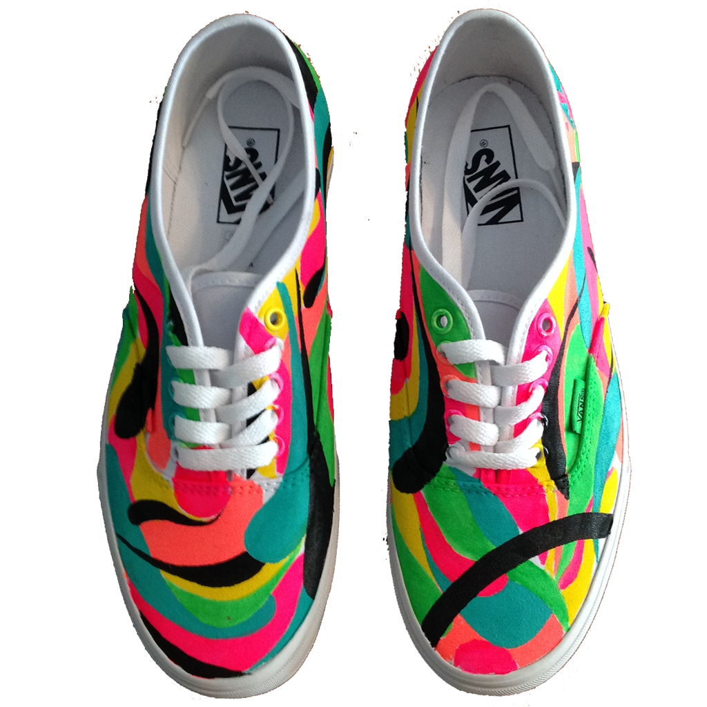 California Graffiti Custom Vans - BYN Customs - 1