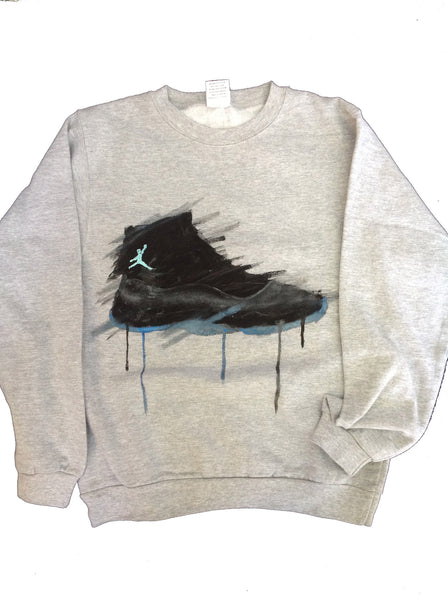 Custom Gamma Jordan 11 Crewneck Sweater - BYN Customs