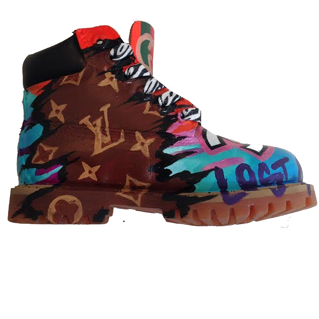 Girl Code Custom Timberlands - BYN Customs - 3