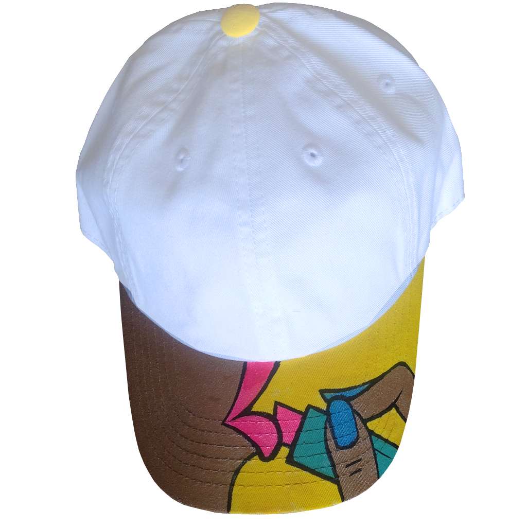 "Custom ""Lipstick Poppin"" Dad Hat"