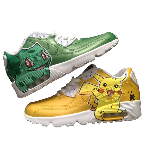 Custom Pokemon Go Nike Airmax 90's - BYN Customs - 1