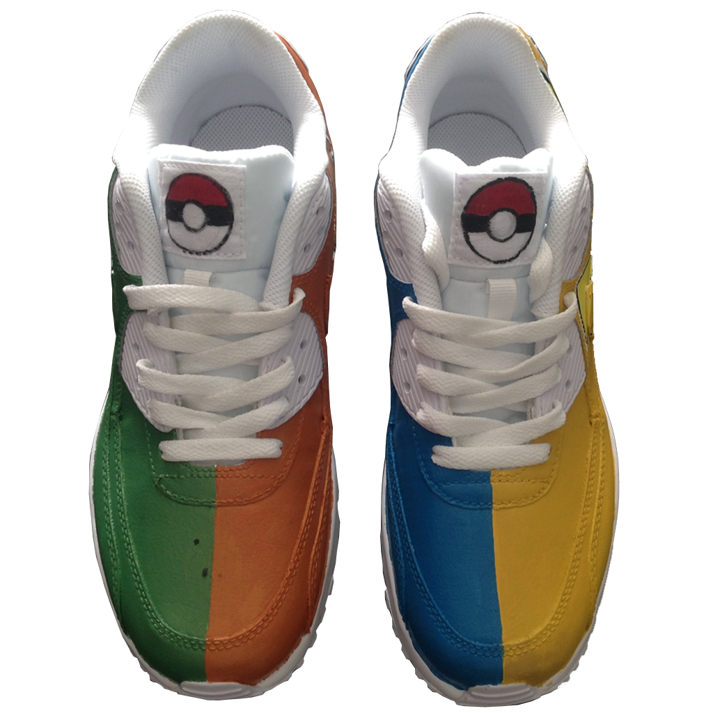 Custom Pokemon Go Nike Airmax 90's - BYN Customs - 3
