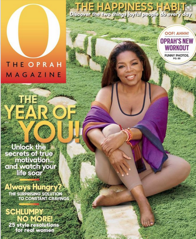 On the Cover of Oprah