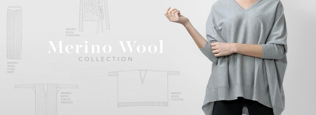 Merino wool collection