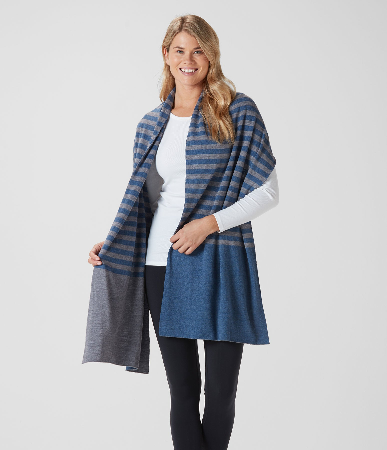 Dockside Striped Scarf
