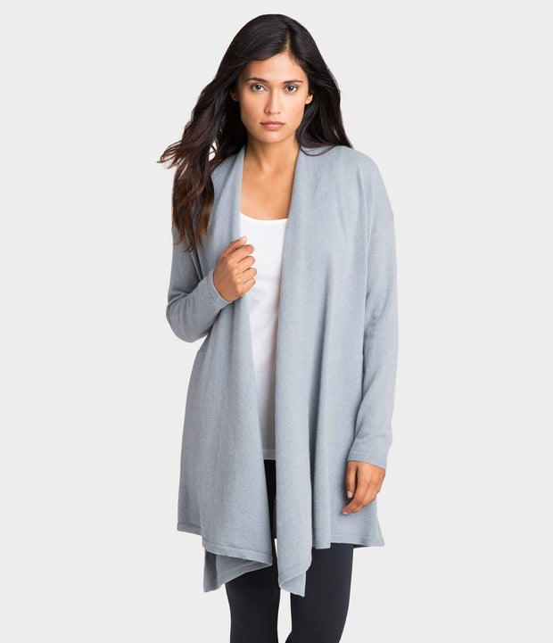Cashmere Cardigan, color-fog