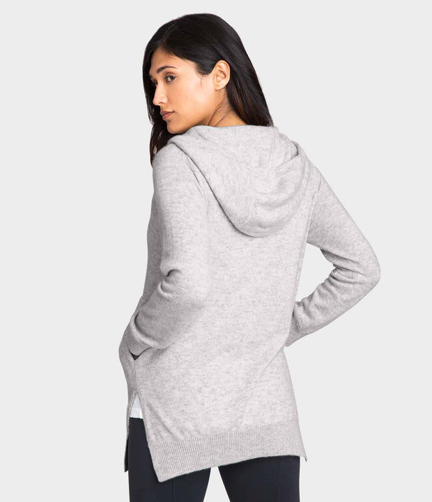 Cashmere Hoodie, color-oyster