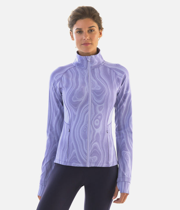 DwellStudio Malakos Track Jacket, color-thistle