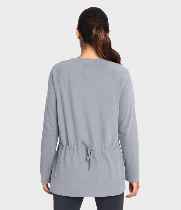 Crane & Lion, French Terry Crew Neck Sweatshirt, color-pottery