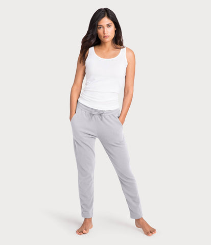 french terry pant, color-microchip