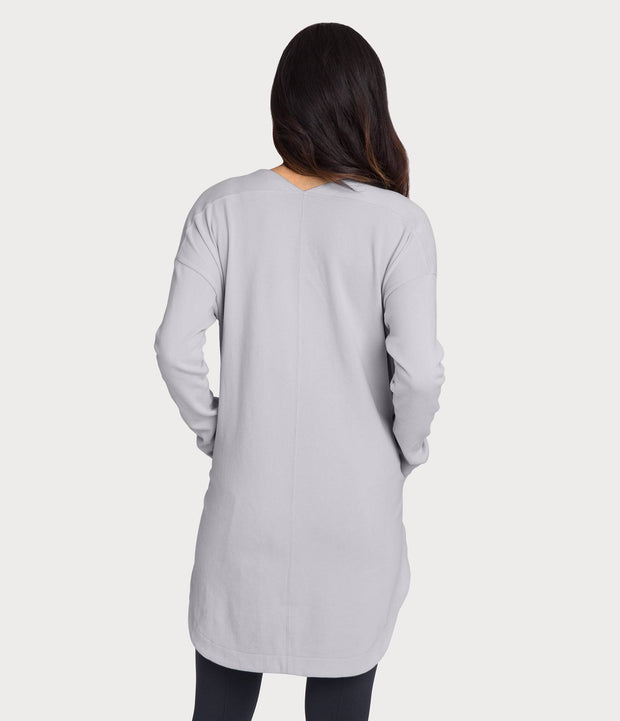 French Terry Tunic, color-microchip