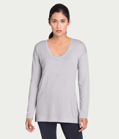 pima deconstructed long sleeve, color-microchip