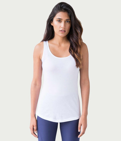 Pima Tank, color-white
