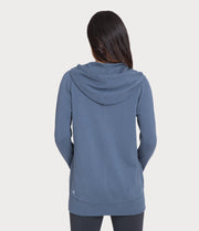 french terry hoodie, color-vintage-indigo