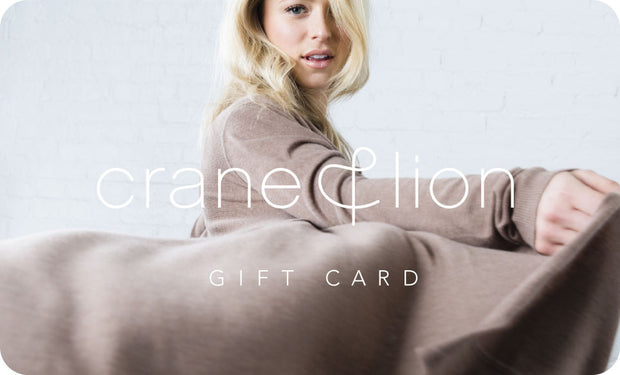 Gift Card - Crane and Lion