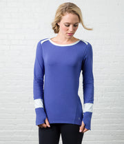 Long Sleeve Tee, color-marlin