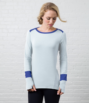 Long Sleeve Tee, color-wan-blue