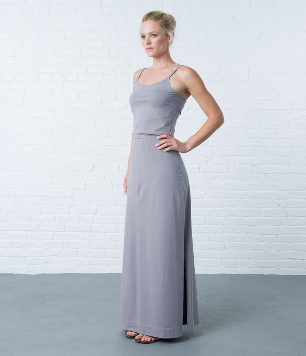 Pima Maxi Dress, color-storm-front-stripe