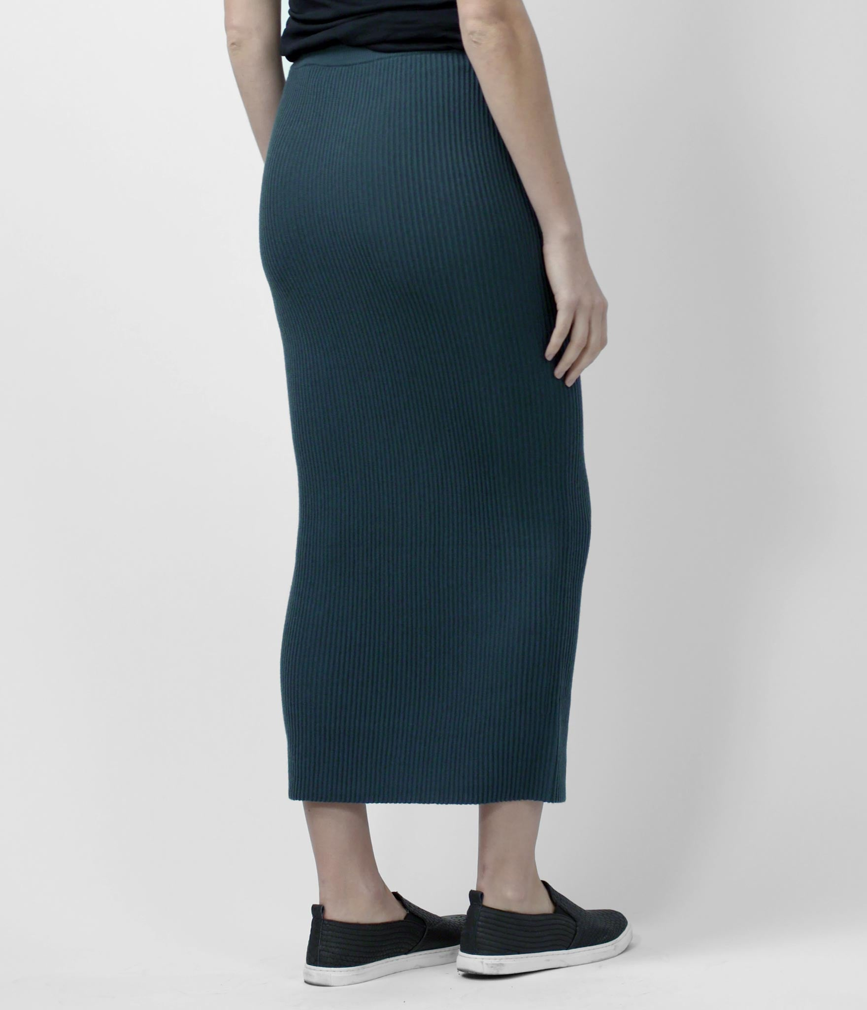Merino Long Skirt