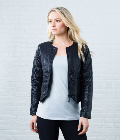 Insulated Moto Jacket, color-black