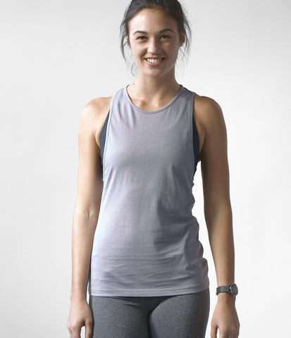 Pima Modern Tank, color-quicksilver