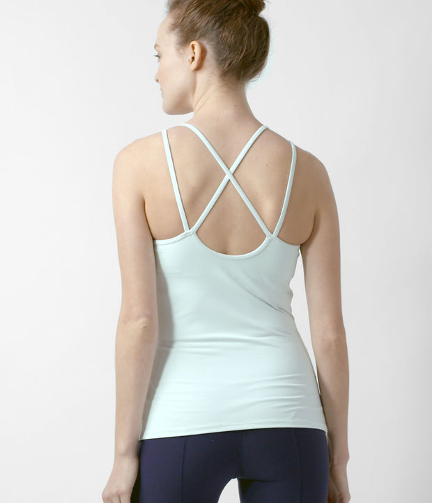 Strappy Tank, color-wan-blue