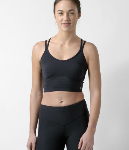 Studio Sports Bra, color-black