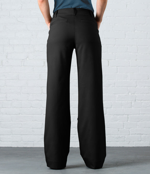 Wide Leg Pant, color-black