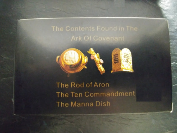 Ark of the Covenant contents