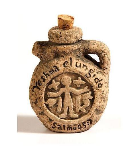 Spanish - Anointing Oil Ancient Replica Flask - Rock of Israel Store
