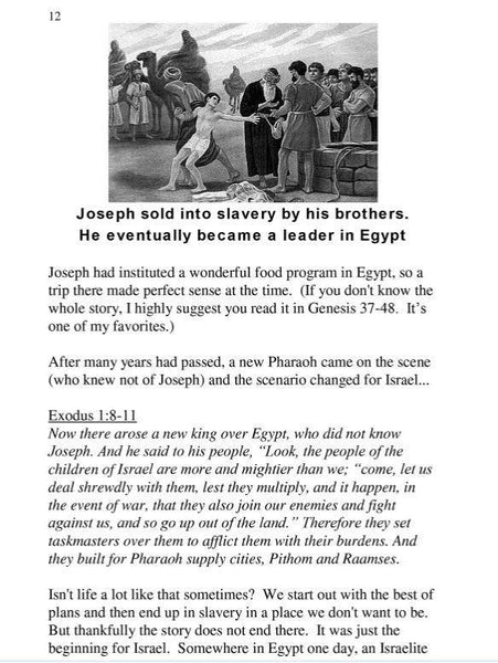 FREE E-Book - Jesus in the Seven Feasts of Israel - Rock of Israel