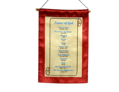 Hebrew banner names of God
