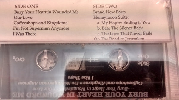 Messianic Music - Cassette tape closeout - Bury your heart in Wounded me - Rock of Israel