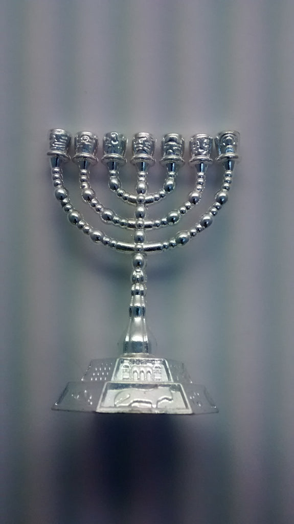 Small menorah - Rock of Israel