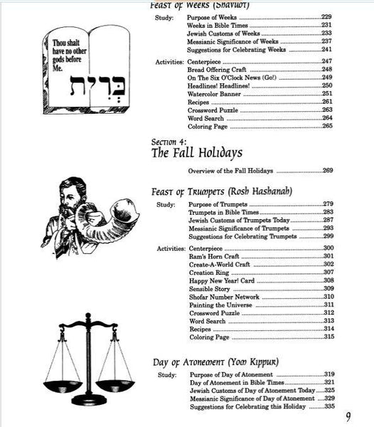 A Family Guide to the Biblical Holidays - Rock of Israel Store