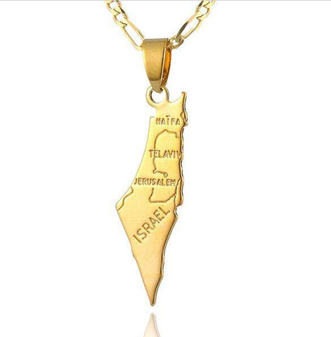 State of Israel necklace - Rock of Israel