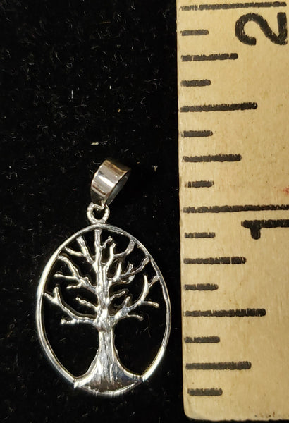 Tree of Life Necklace. Silver 925 - Rock of Israel Store