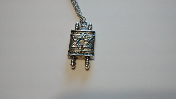 Torah Scroll Necklace - Rock of Israel