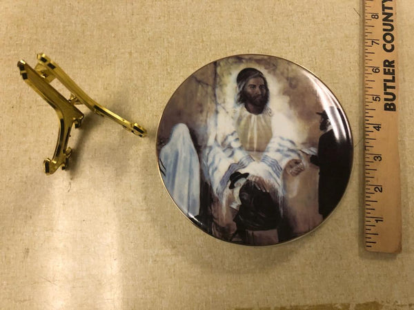 Yeshua at Western Wall - Decorative small plate