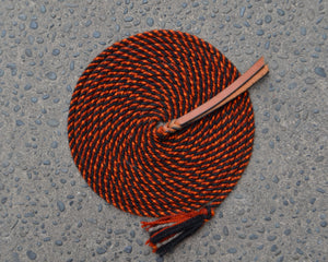 Burnt Orange and Black Mecate