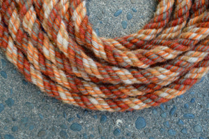 Burnt Orange Split Reins