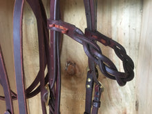 Plaited brow band  Bridle / Headstall