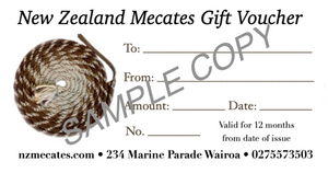 New Zealand Mecates Gift Card