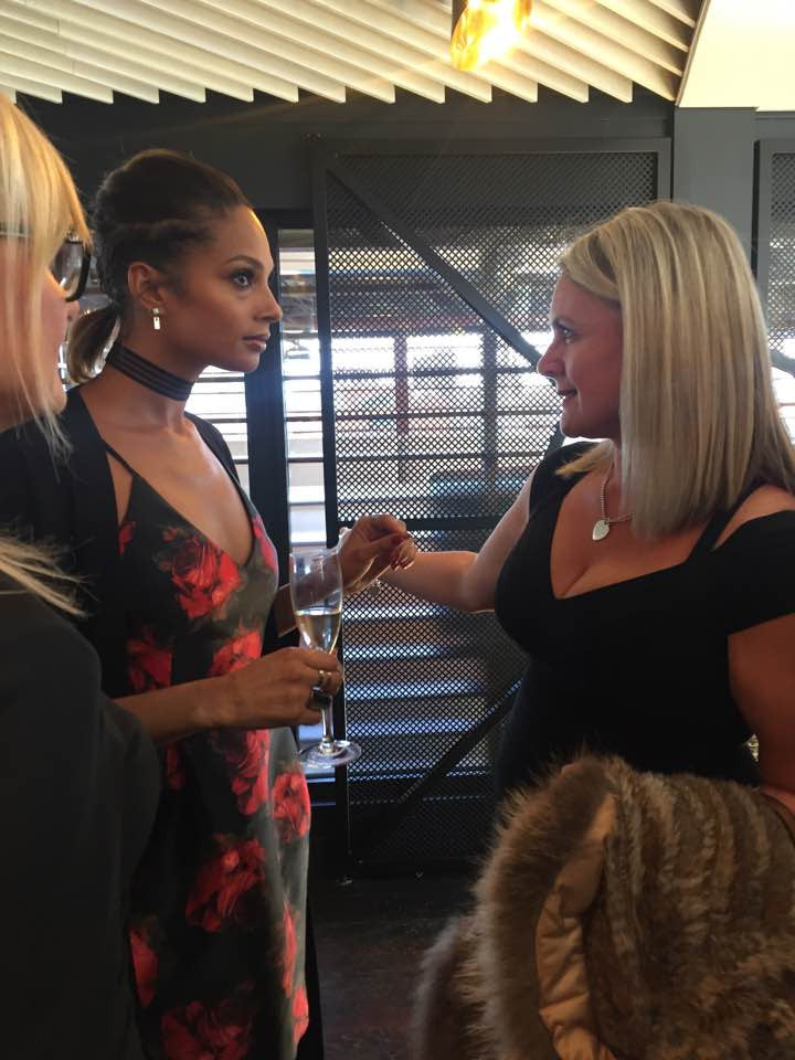 Feathers of Italy VIP Meet and Greet with Alesha Dixon October 2016