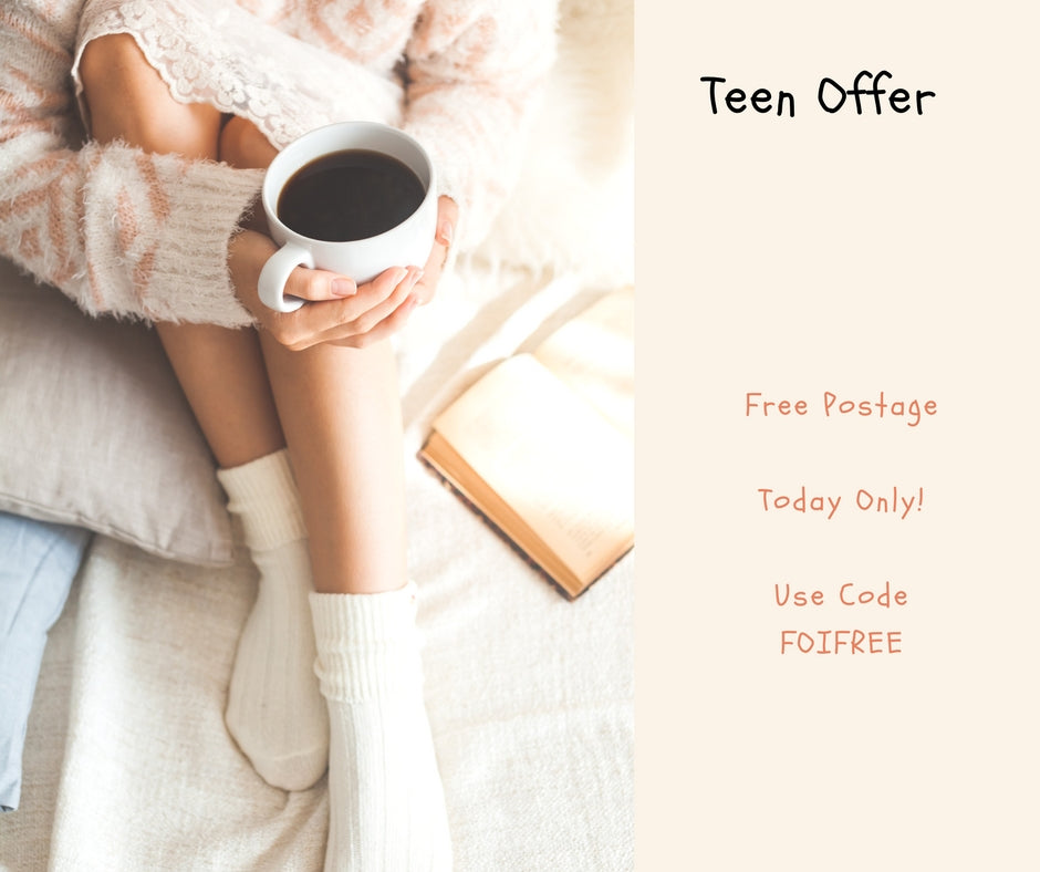 Free Postage Today Only FOI Teens