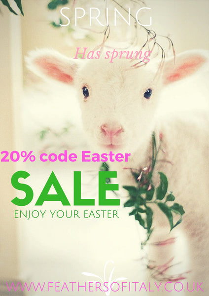 Easter Discount 20% OFF Everything