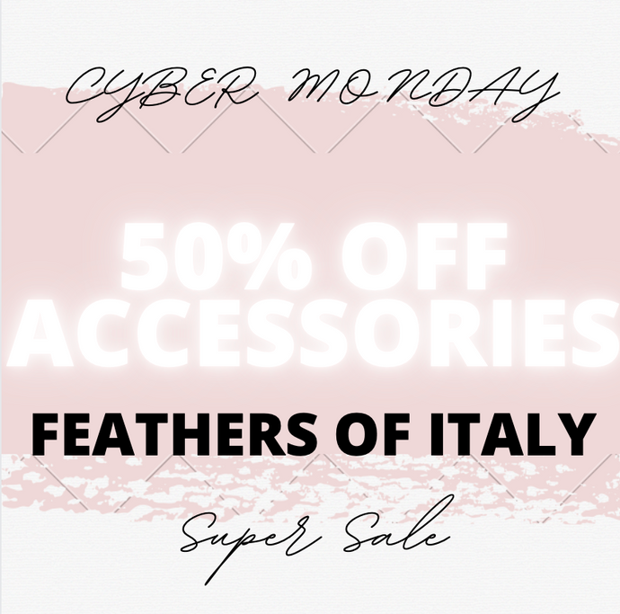 CYBER MONDAY OFFER 1 DAY ONLY 50% OFF ALL ACCESSORIES AND GIFTS - USE CODE
